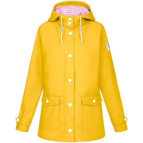 Derbe Outdoorjacke »Regenjacke«, Gelb