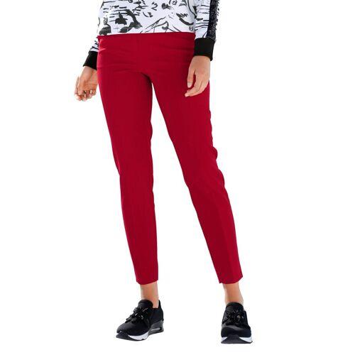 Amy Vermont Hose mit Formbund und Gürtelschlaufen, Rot