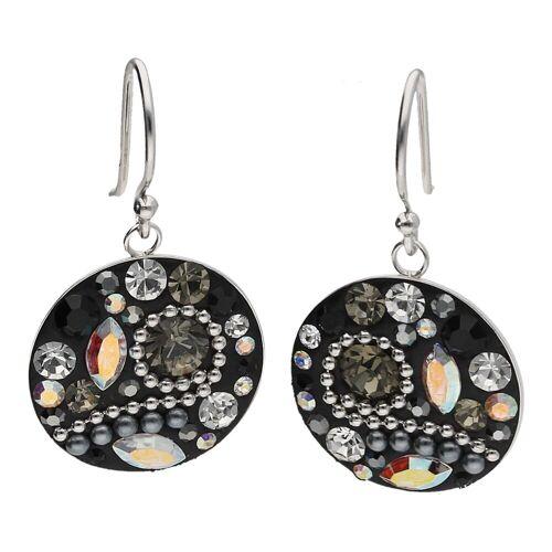 Smart Jewel Paar Ohrhaken »Ohrhaken mit Behang«
