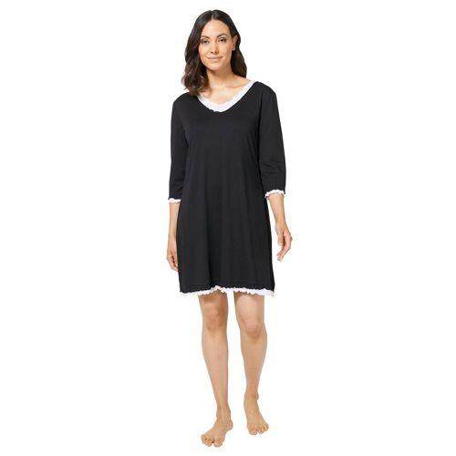 wäschepur Nachthemd »Nachthemd«, schwarz