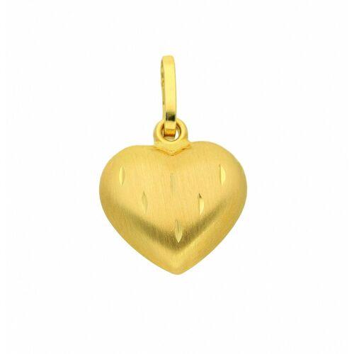 Adelia´s Anhänger Set »333 Gold Anhänger Herz«, 333 Gold Goldschmuck für Damen