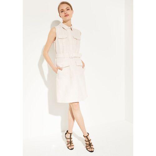 Comma Minikleid »Elegantes Kleid aus Leinen-Mix«