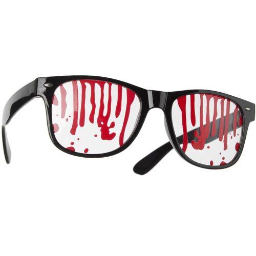 tectake Kostüm »Spaßbrille Blut«