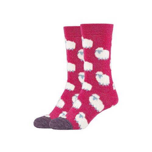 Fun Socks Socken (2-Paar) mit lustigem Schaf-Motiv