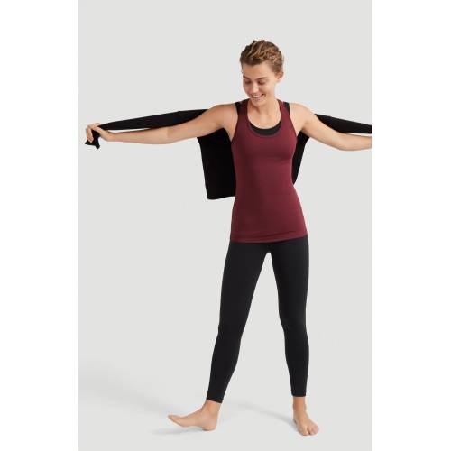 O'Neill Tanktop »Yoga Performance Top«, Windsor Wein