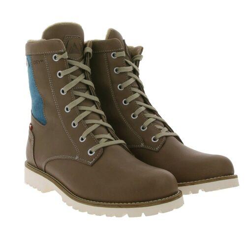 Dachstein »Frieda Winter-Boots hohe Wander-Stiefel für Damen mit Woll-Anteil Outdoor-Stiefel Braun« Wanderstiefel