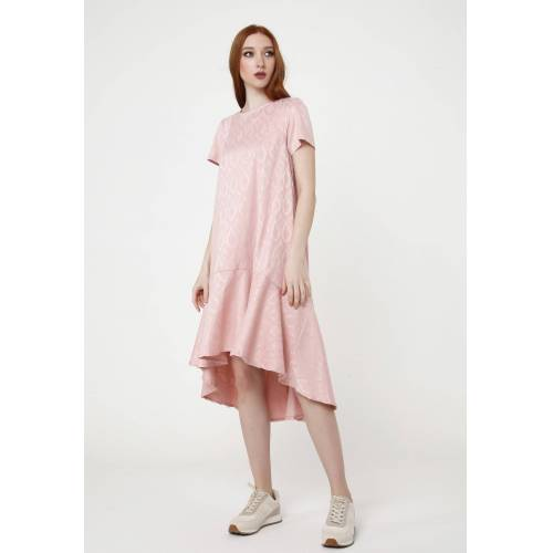 MaDam-T Vokuhila-Kleid »Kleid Mia«, rosa
