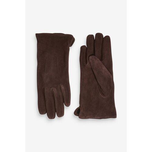 Next Laufhandschuhe »Handschuhe aus Veloursleder«