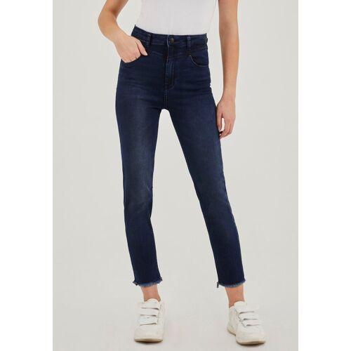 LTB Mom-Jeans »ARLIN« mit Sattel als besonderes Detail