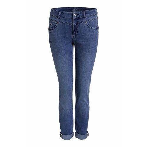 Oui Slim-fit-Jeans »The Newport Jeans Slim Fit« Ziersteine