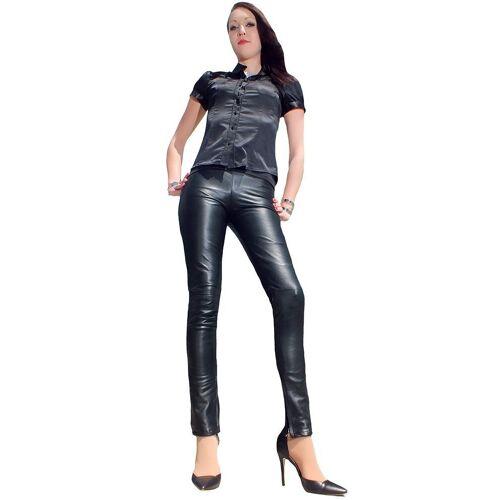 Fetish-Design Lederhose »Lederhose Skinny Schwarz«