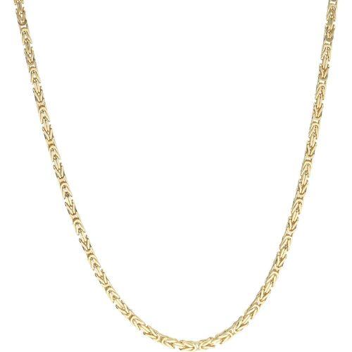 Luigi Merano Königskette »Königskette, massiv, Gold 585«