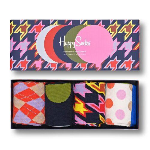 Happy Socks Langsocken »Dot Socks Geschenk Box 4 Paar Socken« (4-Paar)