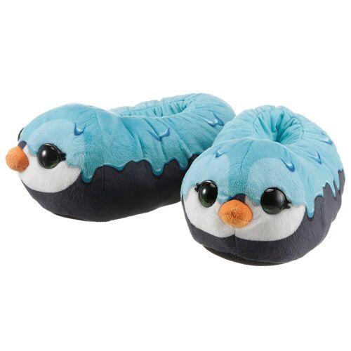 Nici »doo Pinguin« Plüsch Hausschuhe mit großen Glubschaugen