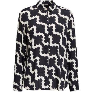Esprit Collection Hemdbluse mit stylischem Mosaik-Print allover