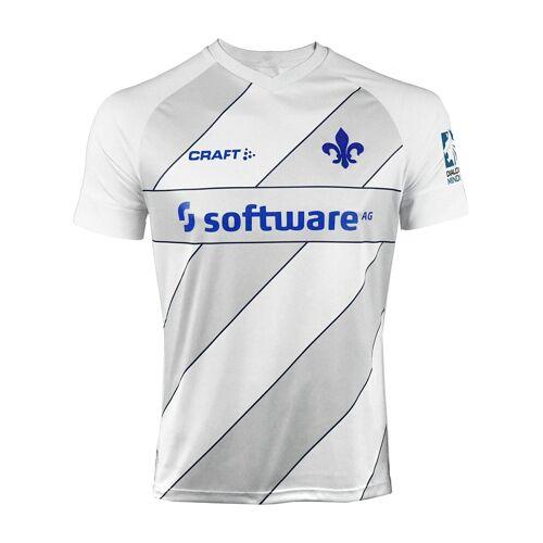 Craft Fußballtrikot »SV Darmstadt 98 Trikot Home 20/21 F369900«, weissgrau