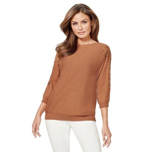 Lady Fledermauspullover »Pullover«, zimt