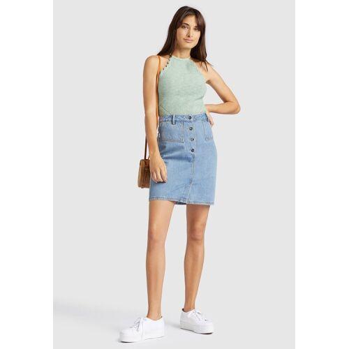 khujo Jeansrock »PROSA« aus Jeans im Slim Fit mit kurzem Schnitt