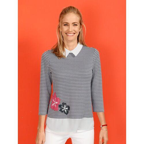 Laura Kent Shirt im Lagenlook, Weiß