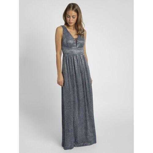 Apart Abendkleid in Empire Stil, blau