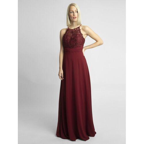 Apart Abendkleid im Empire Stil, rot