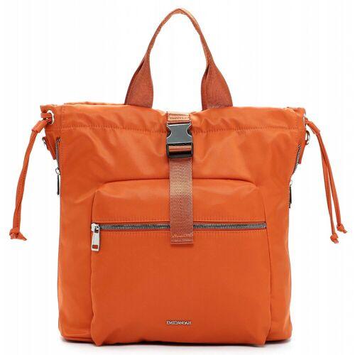 EMILY & NOAH Cityrucksack »Suza-NylonSuza-Nylon«, Nylon, orange