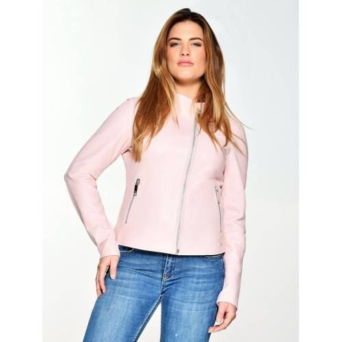 Maze Lederjacke elegant »Sandy«, light pink