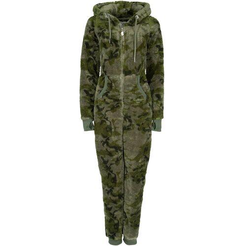 Eight2Nine Overall aus Fleece, dunkelgrün