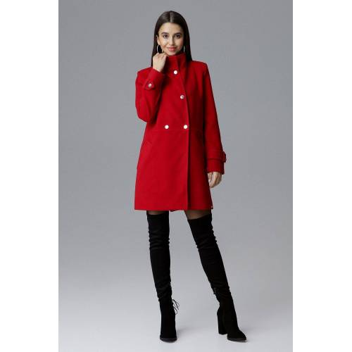 FIGL Mantel in klassischem Design, Red