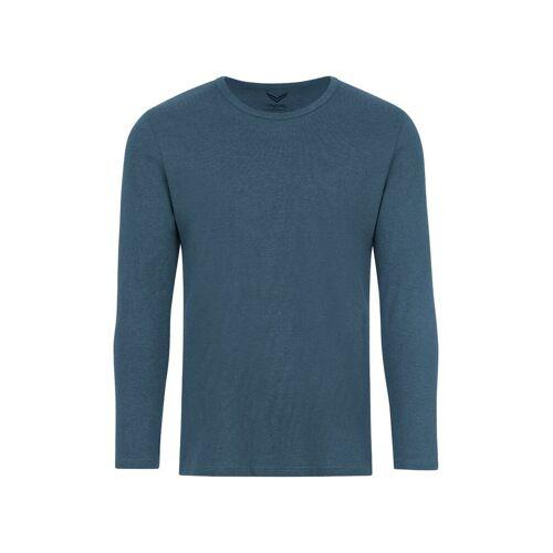 Trigema Langarmshirt, jeans-melange