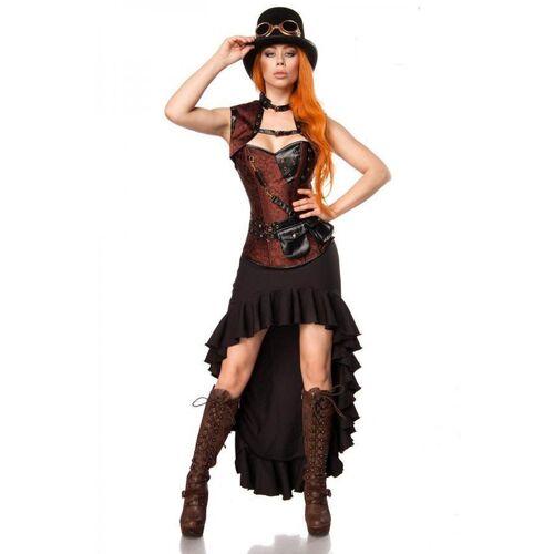 Mask Paradise Kostüm »Steampunk M - XL Lady Kostüm Steam Punk«