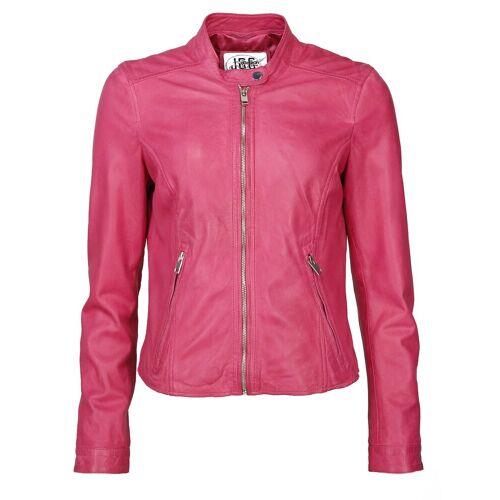 JCC Lederjacke sportlich »Paradies«, pink