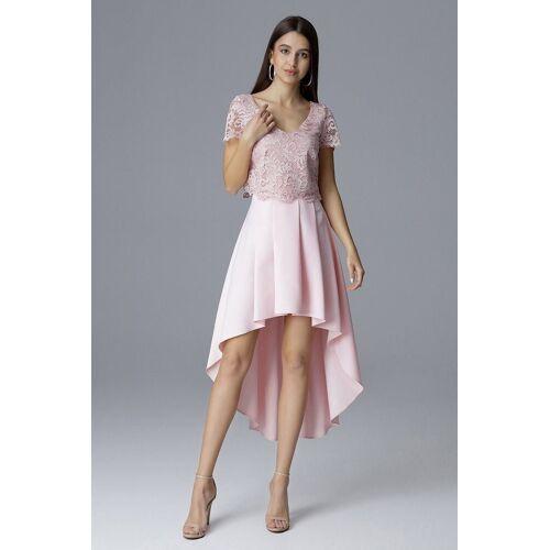 FIGL Rock im Vokuhila Design, Pink