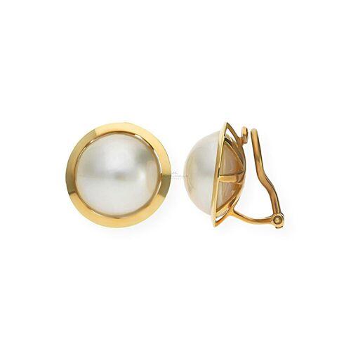 JuwelmaLux Paar Ohrclips »Ohrclip Gold«