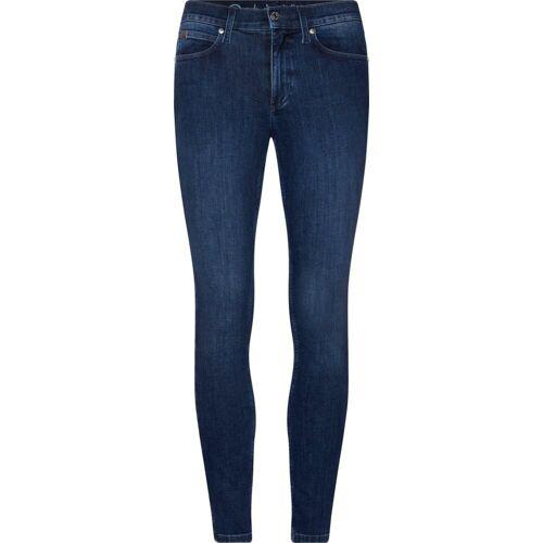 Calvin Klein Skinny-fit-Jeans »BLUE SKINNY ANKLE JEAN« mit CalvinKlein Branding