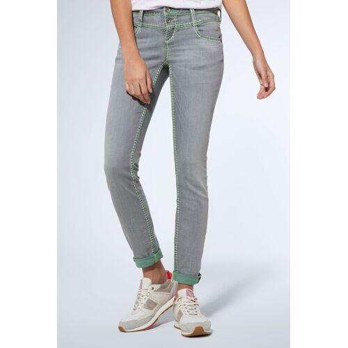 SOCCX Slim-fit-Jeans mit Turn-Up Saum