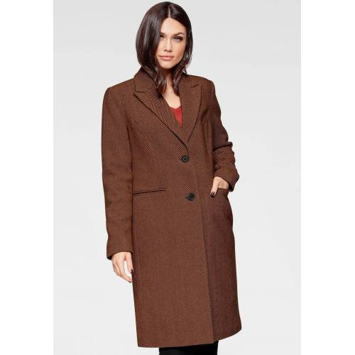 Vero Moda Kurzmantel »BLAZA«, cognac with white