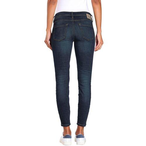 GANG Skinny-fit-Jeans »Faye« im Flanking-Style, dark indigo used