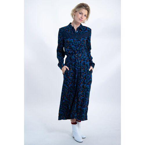 Garcia A-Linien-Kleid mit Taillenband
