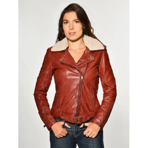 Maze Lederjacke »Creek«, red