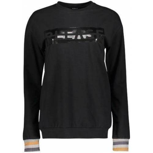 Please Jeans Sweatshirt »PF58« mit Shiny Please Logo-Druck