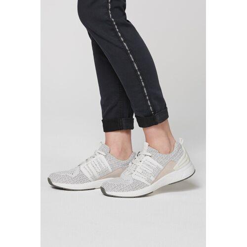 SOCCX Sneaker mit Label-Print, white