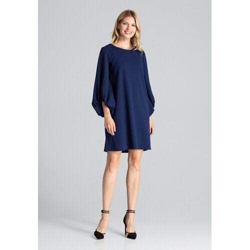 FIGL Abendkleid mit weitem Schnitt »M693«, Navy Blue