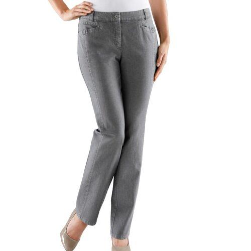 Cosma Gerade Jeans, grau