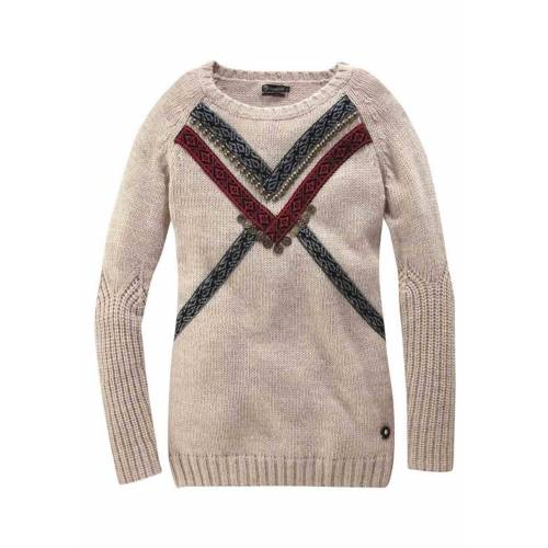 Tigerhill Troyer »Damen Marken-Pullover, natur«