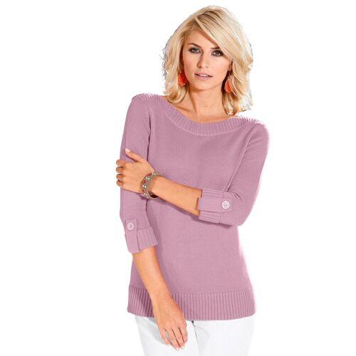 Casual Looks 3/4 Arm-Pullover, altrosa-rosé