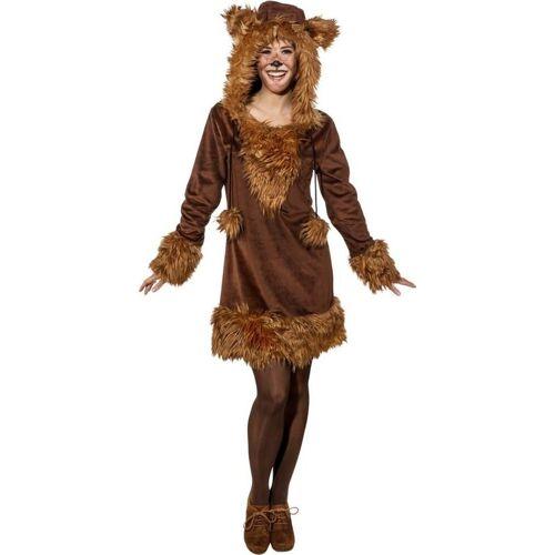 Orlob Kostüm »Süßes Bären Kleid für Damen«