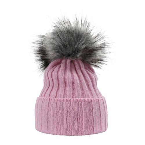 Sätila of Sweden Strickmütze mit schicker Bommel »Myra«, light pink