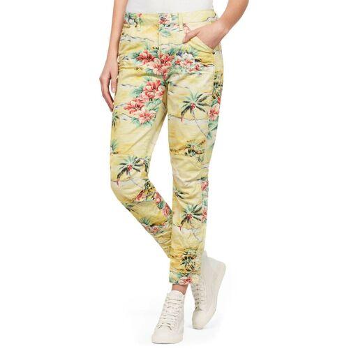G-Star RAW Slim-fit-Jeans »5622 3D Mid Boyfriend COJ W«, milk/yellow