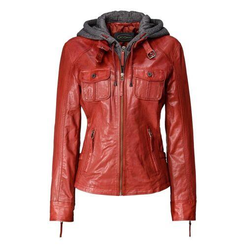 JCC Lederjacke »3102128« elegant, red